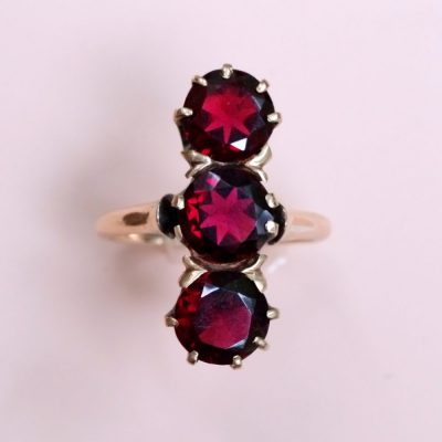 Antique Garnet Statement Ring