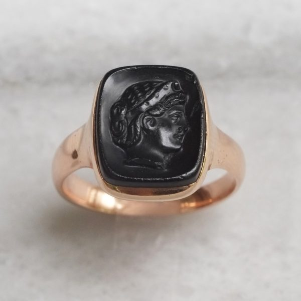 Victorian Cameo Signet Ring
