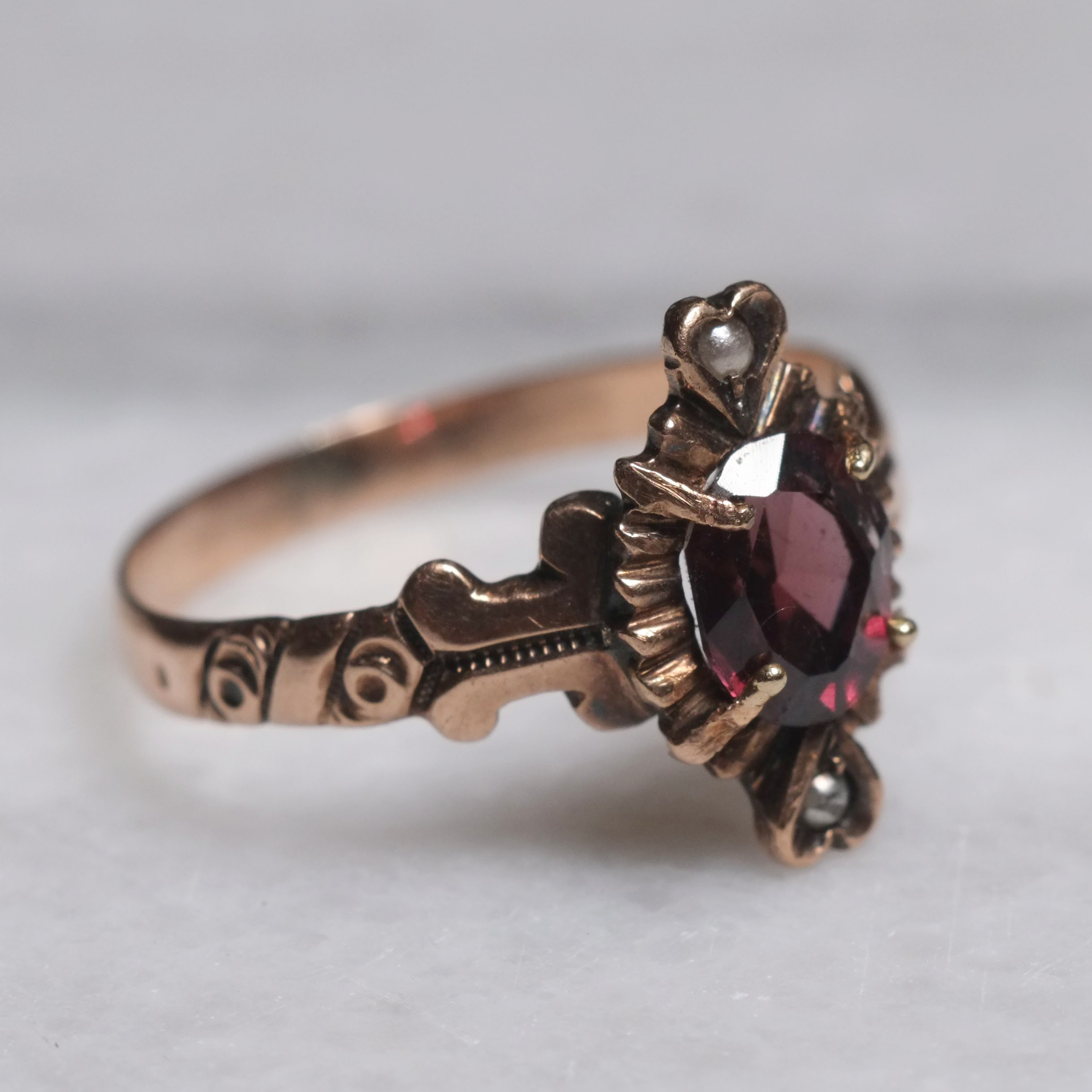 ring silver rhodolite kate garnet products and crown mccoy rings enchanted