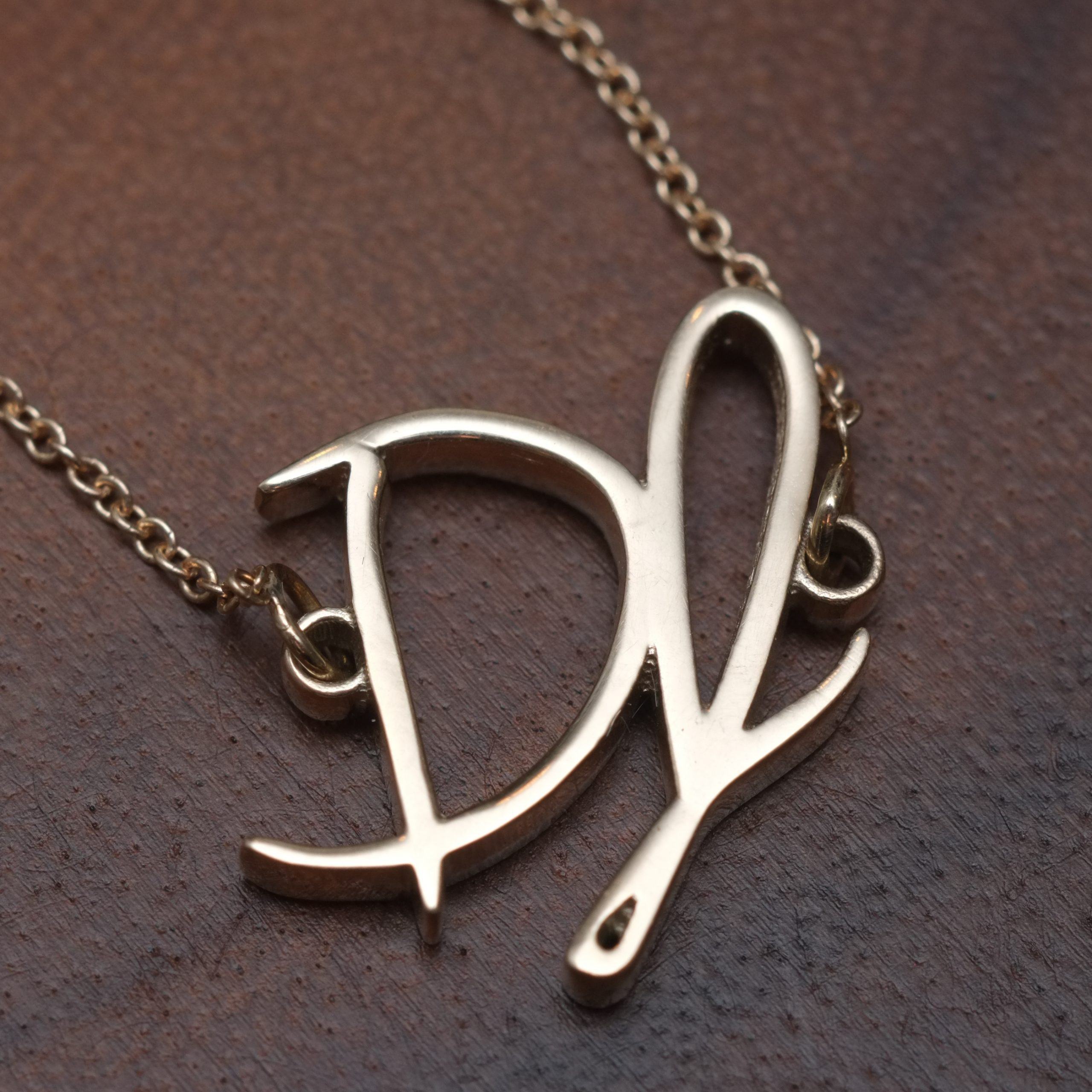 Yellow Gold Signature Necklace
